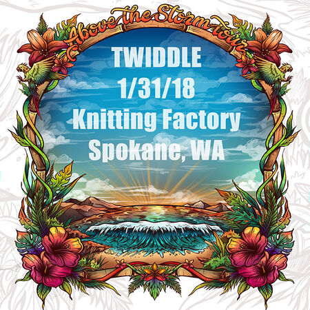 01/31/18 Knitting Factory, Spokane, WA
