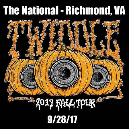 09/28/17 The National, Richmond, VA
