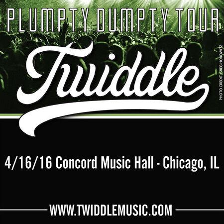 04/16/16 Concord Music Hall, Chicago, IL
