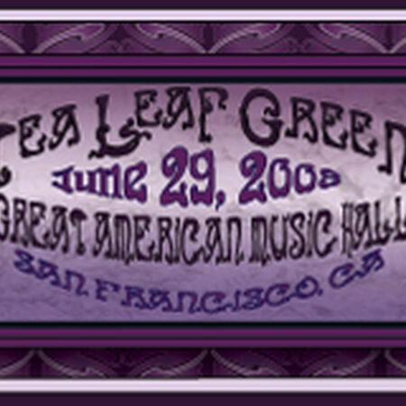 06/29/08 Great American Music Hall, San Francisco, CA