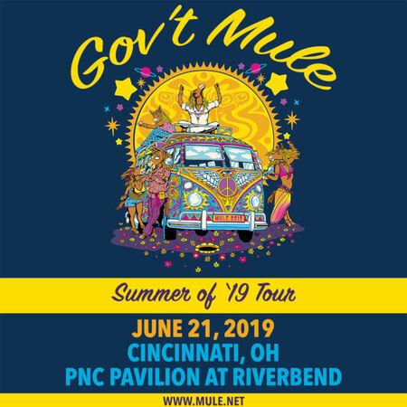 06/21/19 PNC Pavilion at Riverbend, Cincinnati, OH