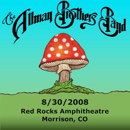 08/30/08 Red Rocks Amphitheatre, Morrison, CO