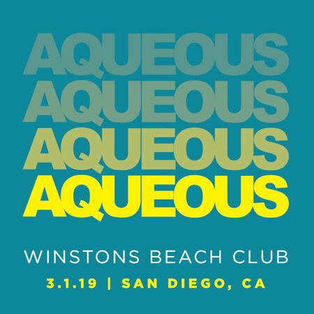 03/01/19 Winston's, San Diego, CA