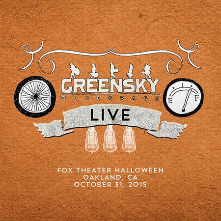 10/31/15 Fox Theater, Oakland, CA