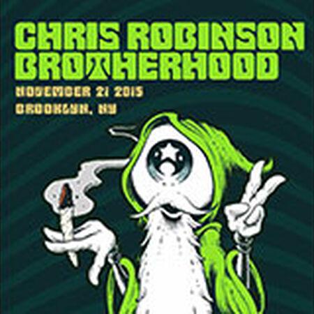 11/21/15 Brooklyn Bowl, Brooklyn, NY
