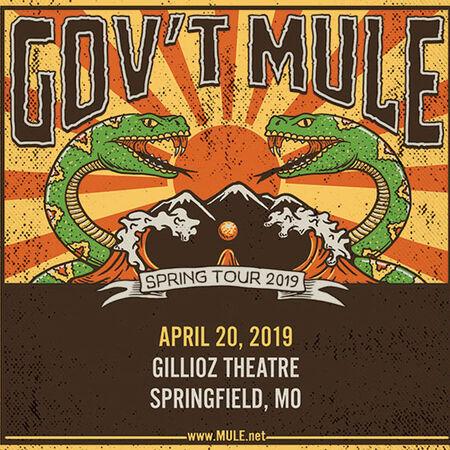04/20/19 Gillioz Theatre, Springfield, MO