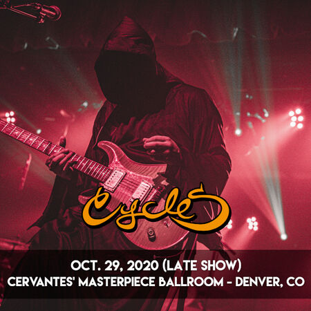 10/29/20 Cervantes' Masterpiece Ballroom - Late Show, Denver, CO