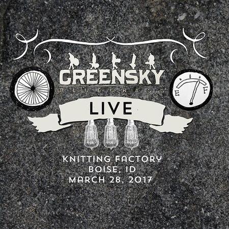 03/28/17 Knitting Factory, Boise, ID