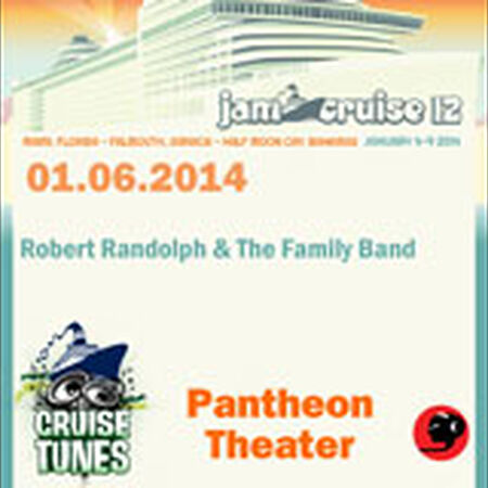 01/06/14 Pantheon Theater, Jam Cruise, US