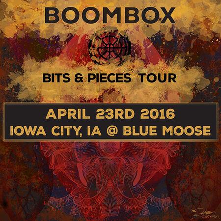 04/23/16 Blue Moose, Iowa City, IA