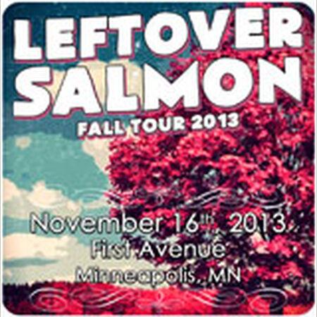 11/16/13 First Avenue, Minneapolis, MN