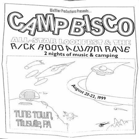08/20/99 Camp Bisco, Titusville, PA