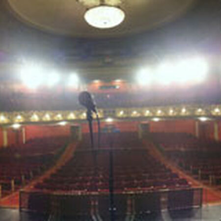 10/25/12 Pabst Theatre, Milwaukee, WI
