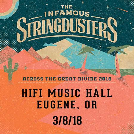 03/08/18 Hifi Music Hall, Eugene, OR