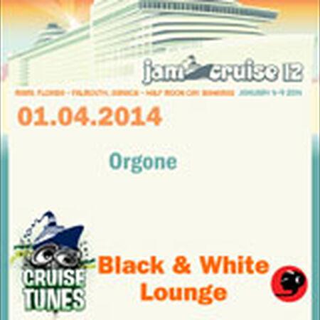 01/04/14 Black & White Lounge, Jam Cruise, US