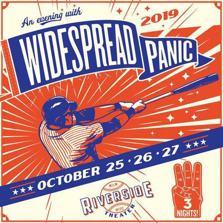 Widespread Panic Milwaukee 2019