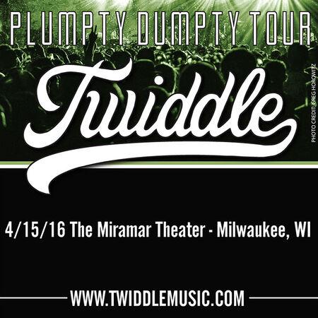 04/15/16 Miramar Theater, Milwaukee, WI