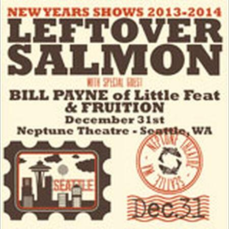 12/31/13 Neptune Theatre, Seattle, WA