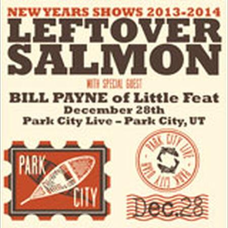 12/29/13 Park City Live, Park City, UT