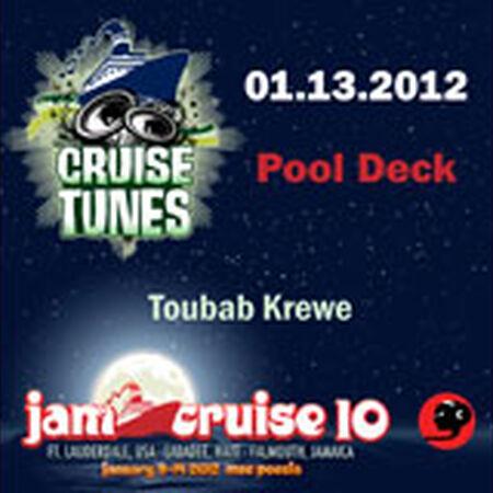 01/13/12 Pool Deck, Jam Cruise, US