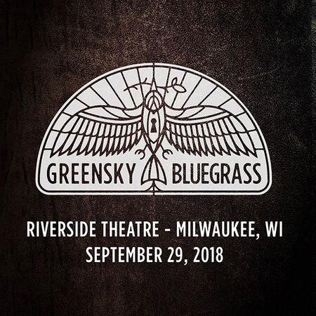09/29/18 Riverside Theatre, Milwaukee, WI