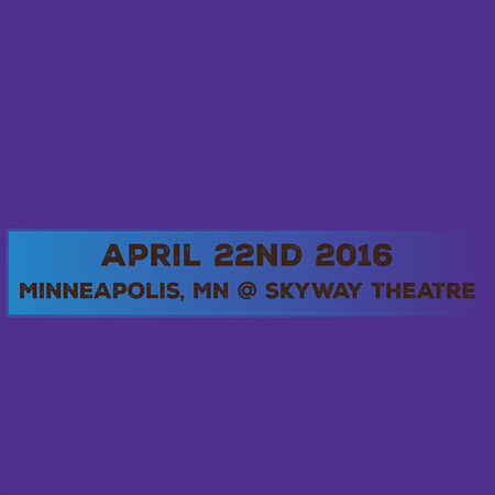 04/22/16 Skyway Theatre, Skyway Theatre, MN