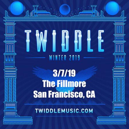 03/07/19 The Fillmore, San Francisco, CA