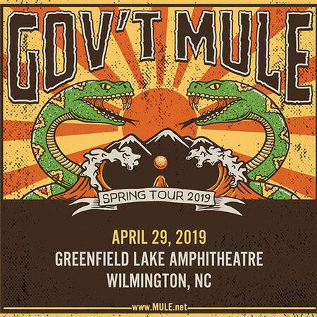 04/29/19 Greenfield Lake Amphitheatre, Wilmington, NC
