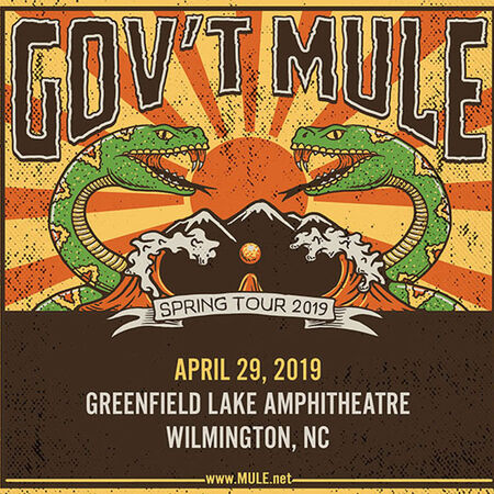 04/29/19 Greenfield Lake Amphitheatre, Wilmington, NC