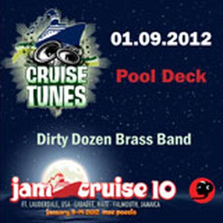 01/09/12 Pool Deck, Jam Cruise, US