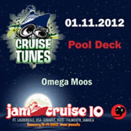 01/11/12 Pool Deck, Jam Cruise, US