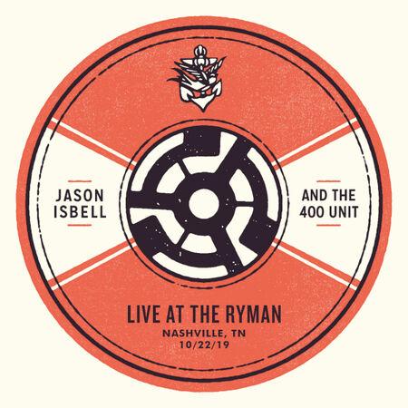 10/22/19 Ryman Auditorium, Nashville, TN