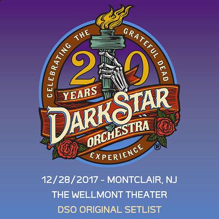 12/28/17 Wellmont Theatre, Montclair, NJ