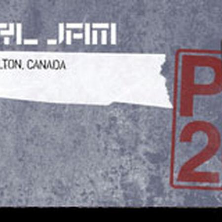 09/15/11 Copps Coliseum, Hamilton, ON