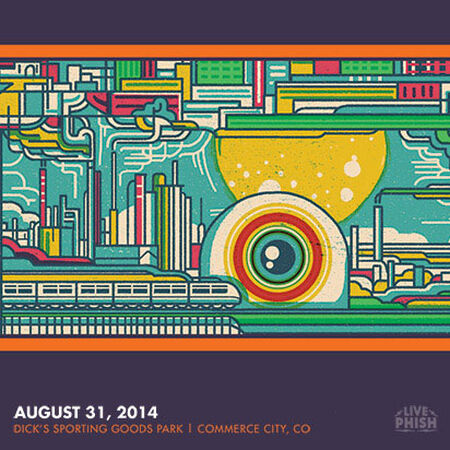 08/31/14 Dick's Sporting Goods Park, Commerce City, CO