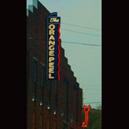 03/18/09 The Orange Peel, Asheville, NC