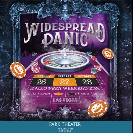 10/28/18 Park Theater, Las Vegas, NV