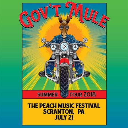07/21/18 Peach Music Festival, Scranton, PA