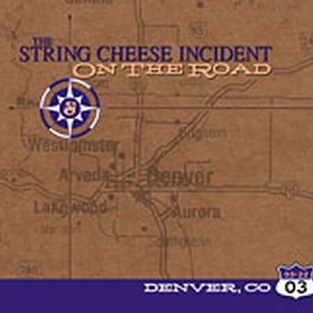 03/22/03 Fillmore Auditorium, Denver, CO