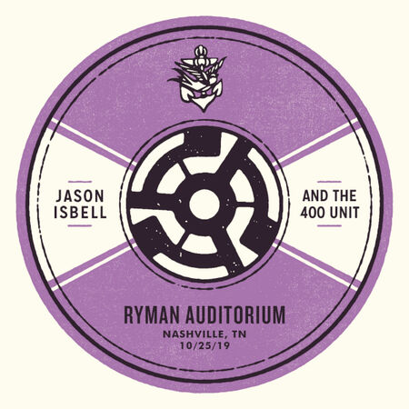 10/25/19 Ryman Auditorium, Nashville, TN