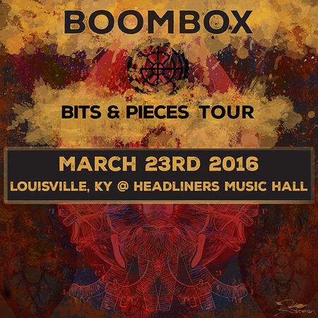 03/23/16 Headliners Music Hall, Louisville, KY