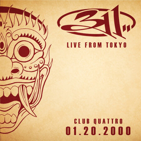 01/20/00 Club Quattro, Tokyo, JP