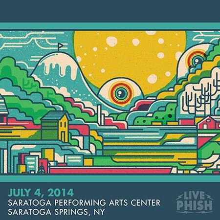 07/04/14 Saratoga Performing Arts Center, Saratoga Springs, NY