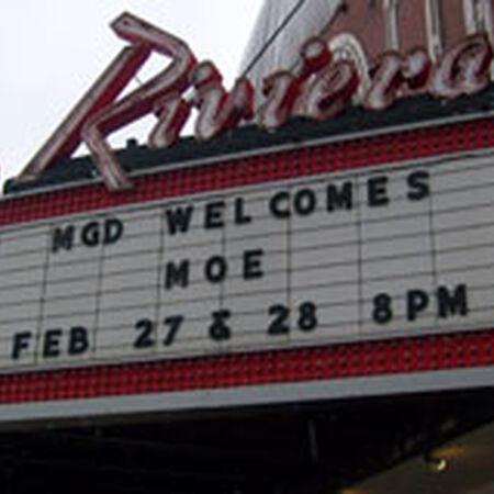 02/27/09 Riviera Theatre, Chicago, IL