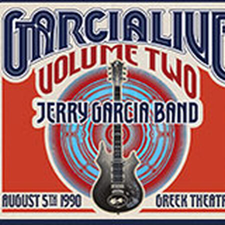 08/05/90 GarciaLive Vol. 2 - Greek Theatre, Berkeley, CA