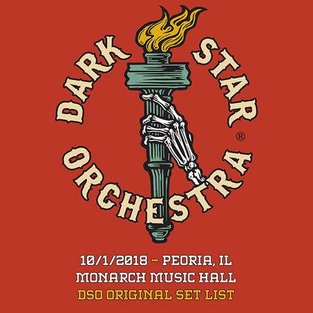 10/01/18 Monarch Music Hall, Peoria, IL