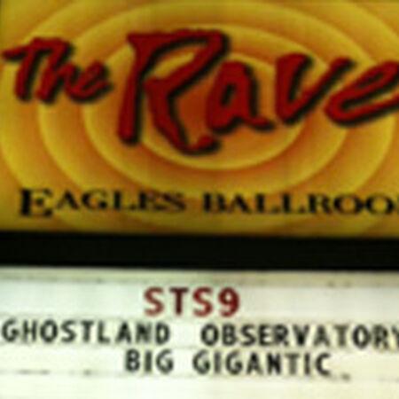 10/09/09 Eagles Ballroom, Milwaukee, WI