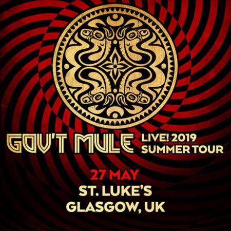 05/27/19 Saint Luke's & The Winged Ox, Glasgow, UK