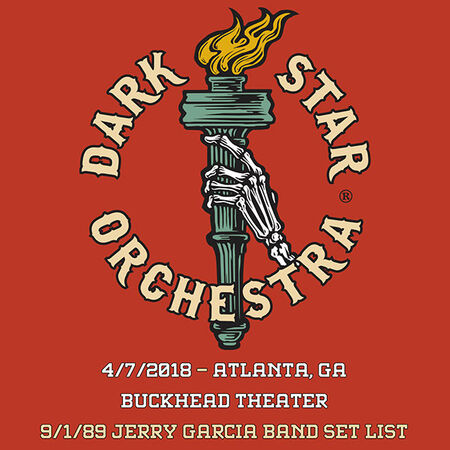 04/07/18 Buckhead Theater, Atlanta, GA