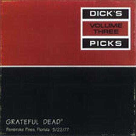 05/22/77 Dick's Picks, Vol.  3: Sportatorium, Pembroke Pines, FL